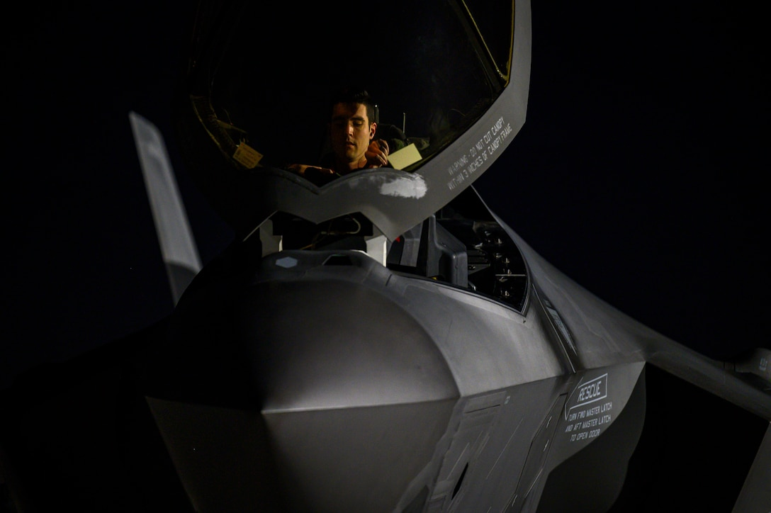 Photo of F-35As at Red Flag