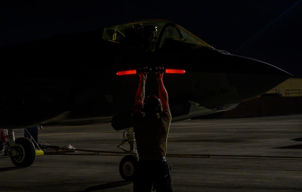 Photos of F-35s at Red Flag