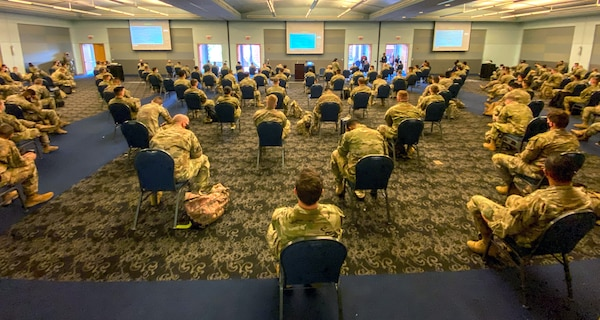 Military personnel assigned to the 299th Brigade Engineer Battalion deployed from Fort Carson, Colorado, in support of the Department of Defense federal vaccine response operations in order to help communities-in-need.