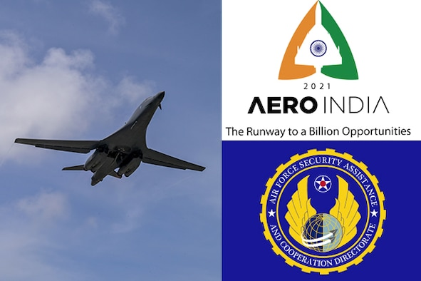 : The Air Force Security Assistance and Cooperation (AFSAC) Directorate joins a United States Air Force (USAF) Delegation to attend Aero India 2021, discussing military interoperability and foreign military sales strategy for the U.S.-India bilateral partnership. Aero India 2021 was also a significant milestone for the USAF with the B-1B being on Indian ground since 75 years ago.