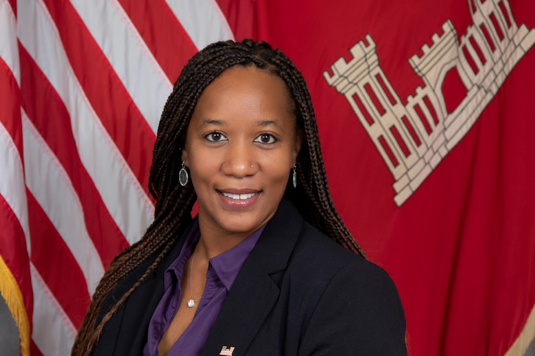 Brandy Diggs-McGee, a research mechanical engineer at the U.S. Army Engineer Research and Development Center's Construction Engineering Research Laboratory, was honored with the Most Promising Engineer in Government Award at the 2021 Black Engineer of the Year Awards Science, Technology, Engineering and Mathematics Conference.