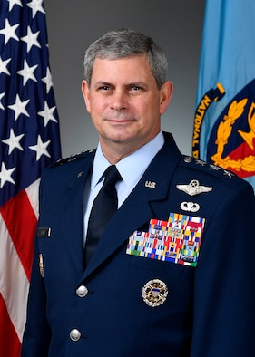 This is the official portrait of Lt. Gen. Michael Plehn, (U.S. Air Force photo by Eric Dietrich)