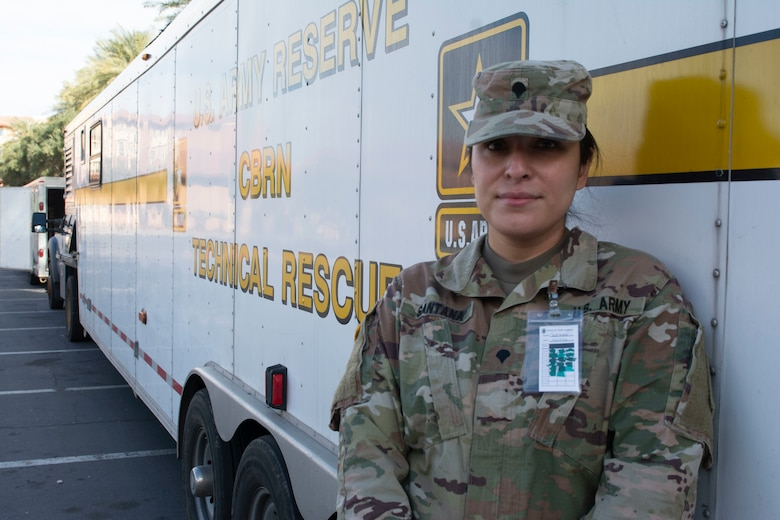 409th Soldier participates in Urban Search & Rescue exercise in Nevada