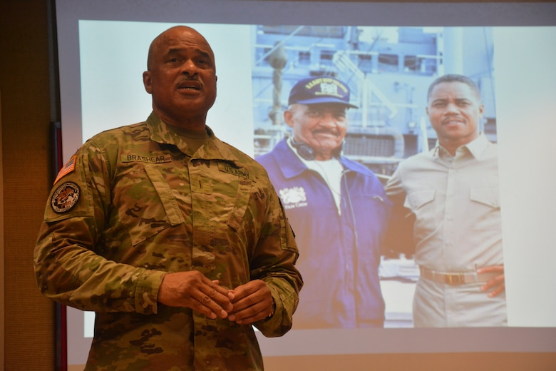 Chief honors Black History Month with father's legacy