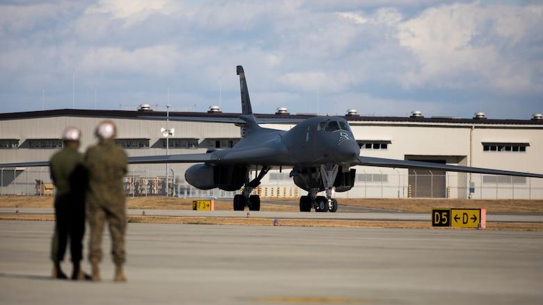 Photo of a U.S. military aircraft