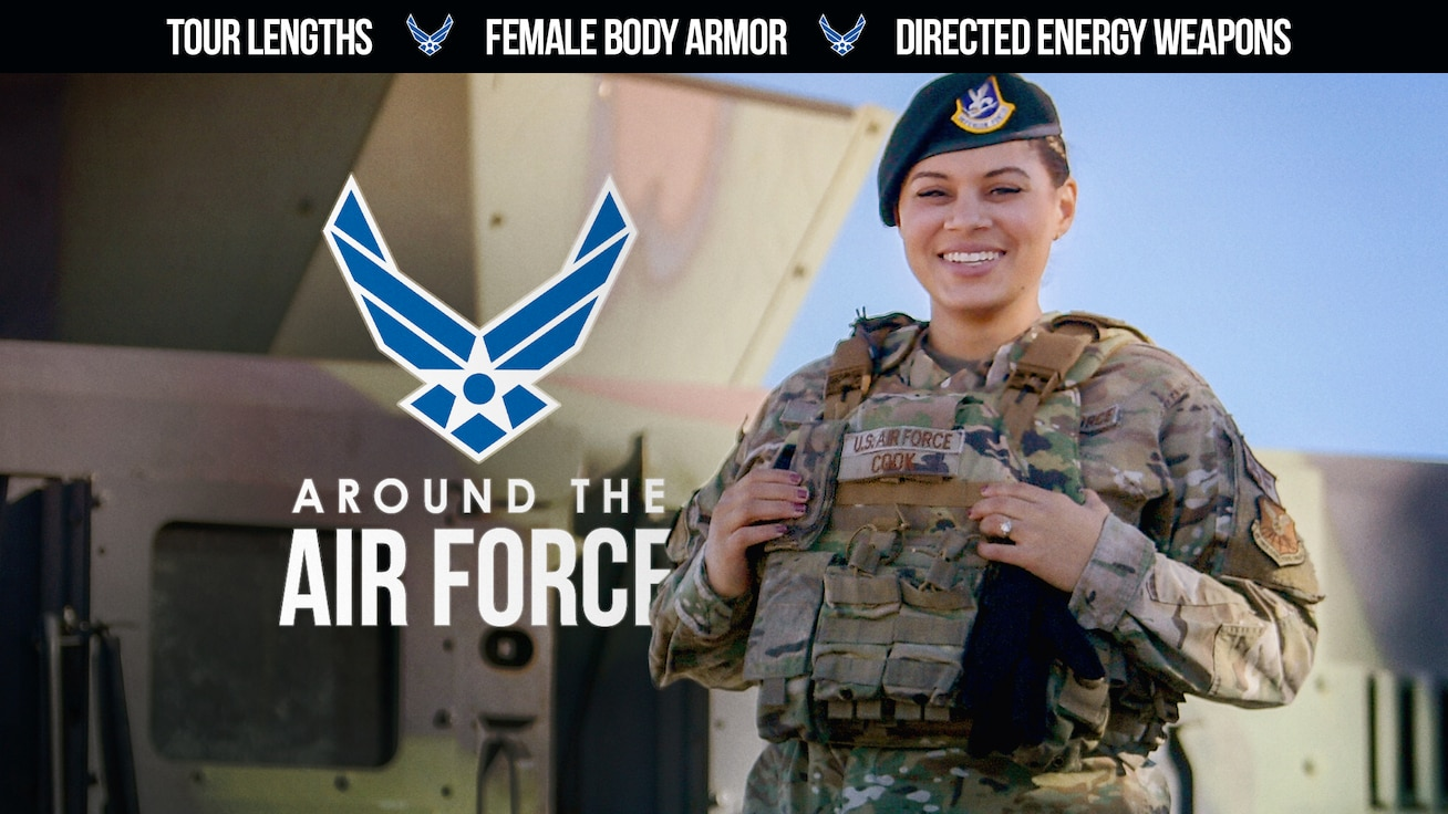 U.S Air Force • Arrival of New Female Body Armor