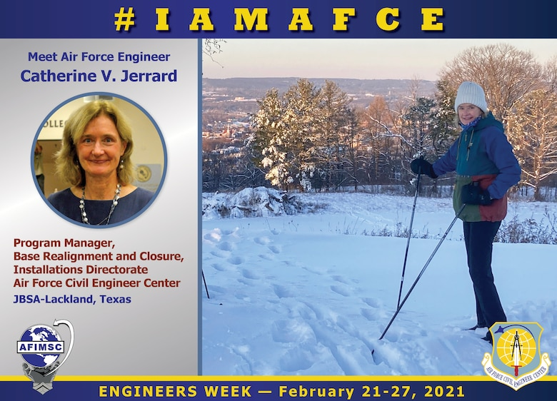 Air Force Civil Engineer Catherine Jerrard