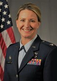 Official portrait of Col. Polly Sandness