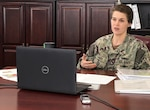Defense Logistics Agency Land and Maritime Commander Navy Rear Adm. Kristen Fabry participated in a February 10 virtual leadership ethics panel discussion held by Thomas More University.