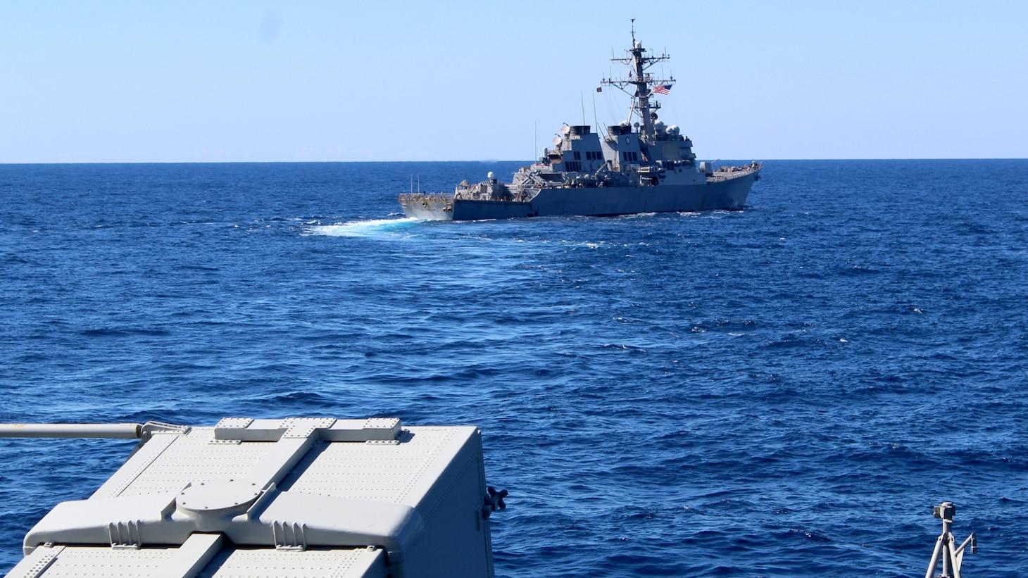 USS Porter (DDG 78); HS Adrias (F 459)