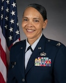 Col. Yvonne Mays, director of staff, New Jersey Air National Guard, stands for a portrait on Joint Base McGuire-Dix-Lakehurst, N.J., Feb. 20, 2021.