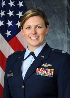 Lt. Col. Melissa Dombrock, 76th Airlift Squadron commander
