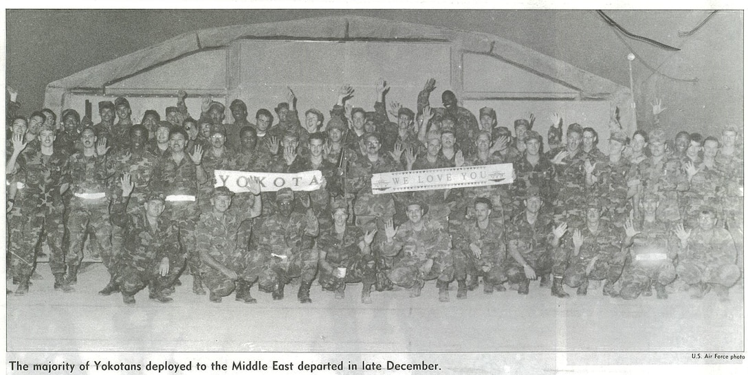 Photo featured in March 8, 1991 Fuji Flyer newsletter. (Courtesy photo)