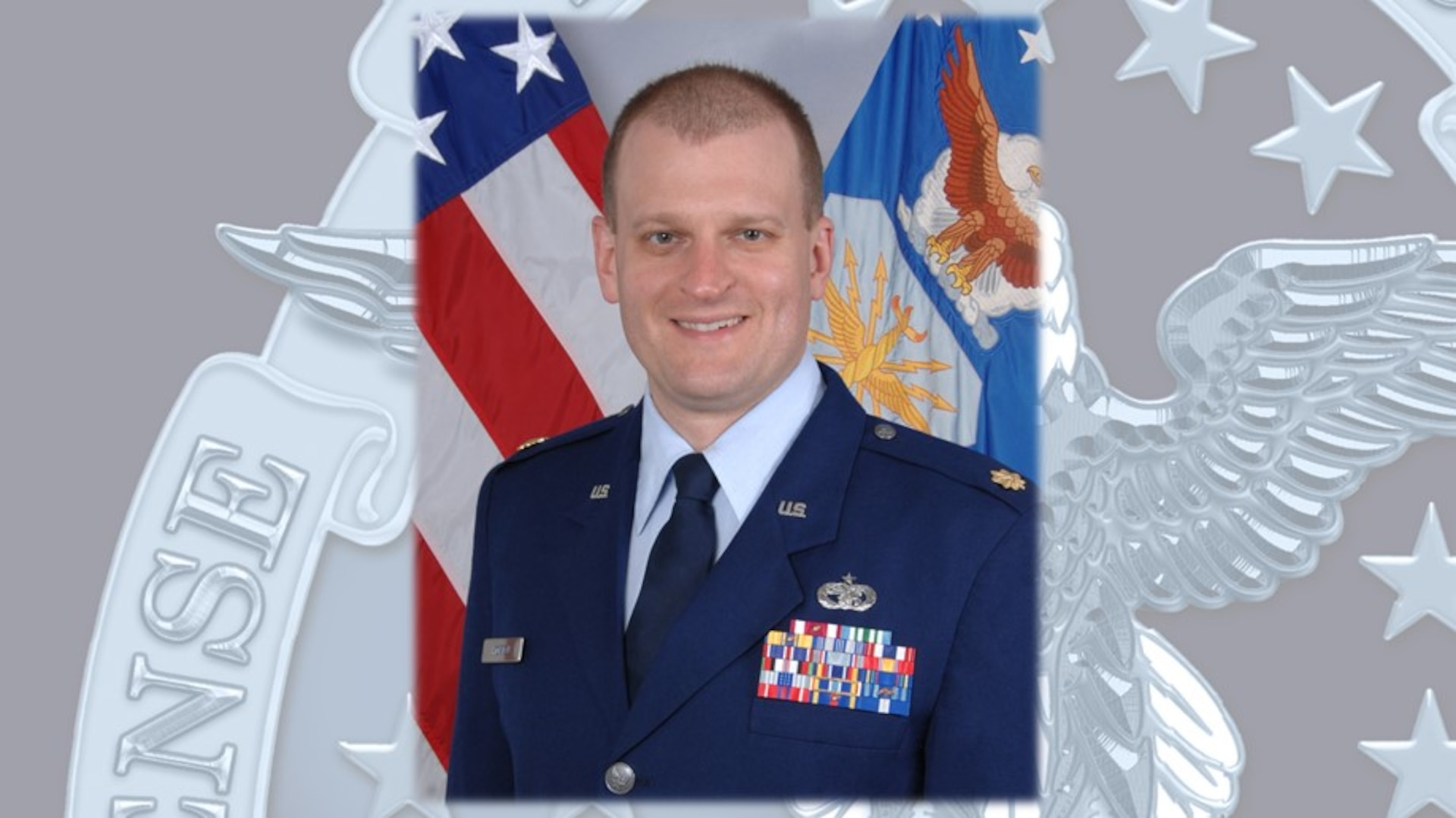 Air Force officer in uniform