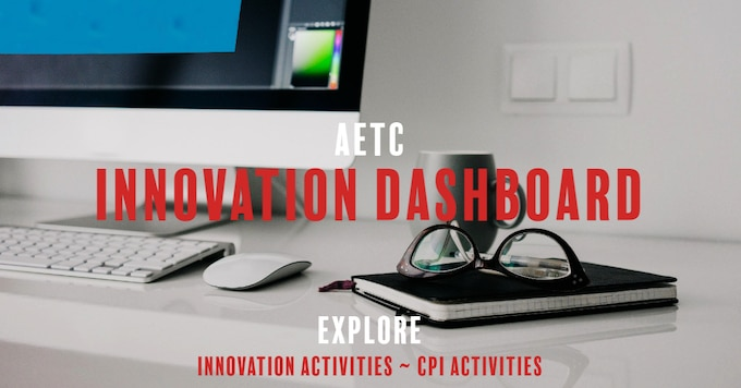 Graphic of AETC Innovation Dashboard