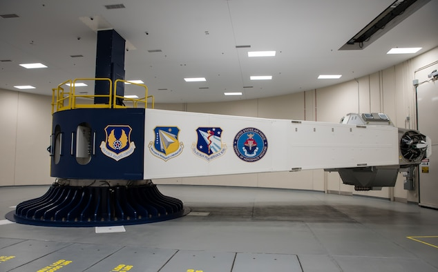NASA and SpaceX launched the Crew Dragon Spaceship on Nov. 15, 2020, and two of the four Astronauts on board recently trained at the Air Force Research Laboratory's centrifuge, Wright-Patterson Air Force Base, Ohio, Nov. 20, 2020. The centrifuge is the only human-rated centrifuge owned by the Department of Defense. Aircrews come here from all over the DoD, as well as from NASA and from allied nations, for aircrew acceleration training as well as research and testing. (U.S. Air Force video by Ryan Law)