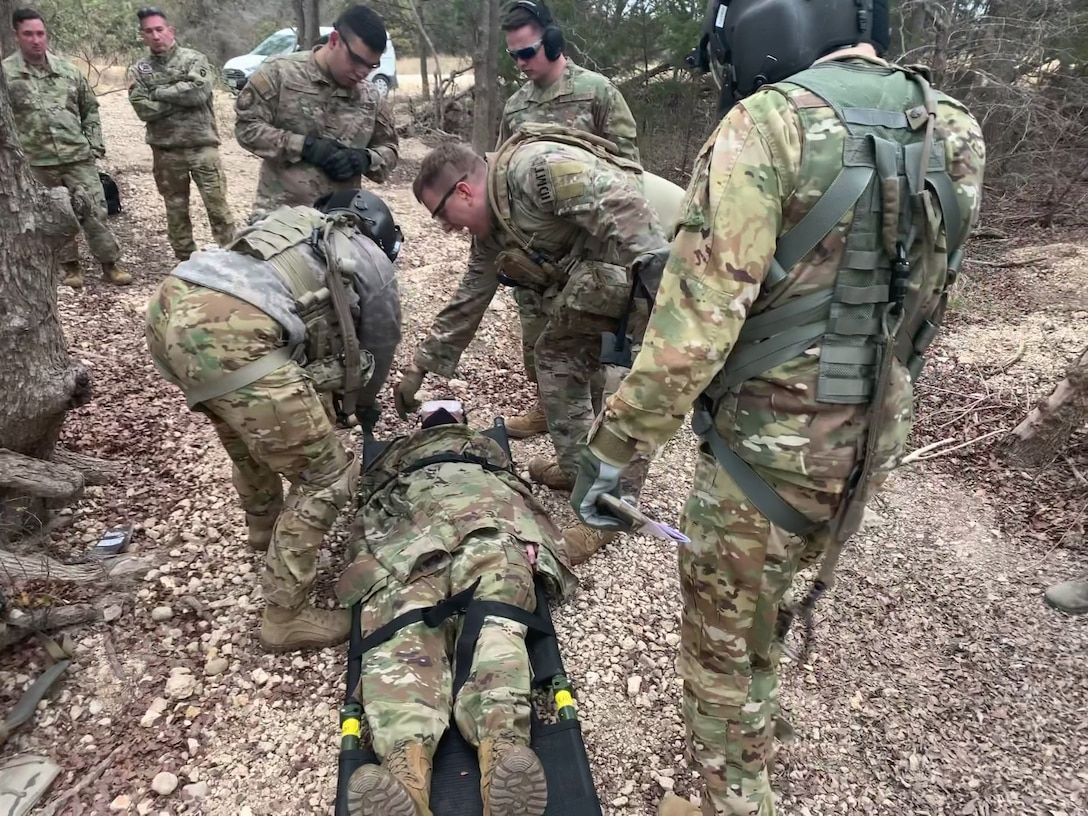 343rd Training Squadron/OL-A Airmen participate in joint exercises with the Texas Army National Guard.