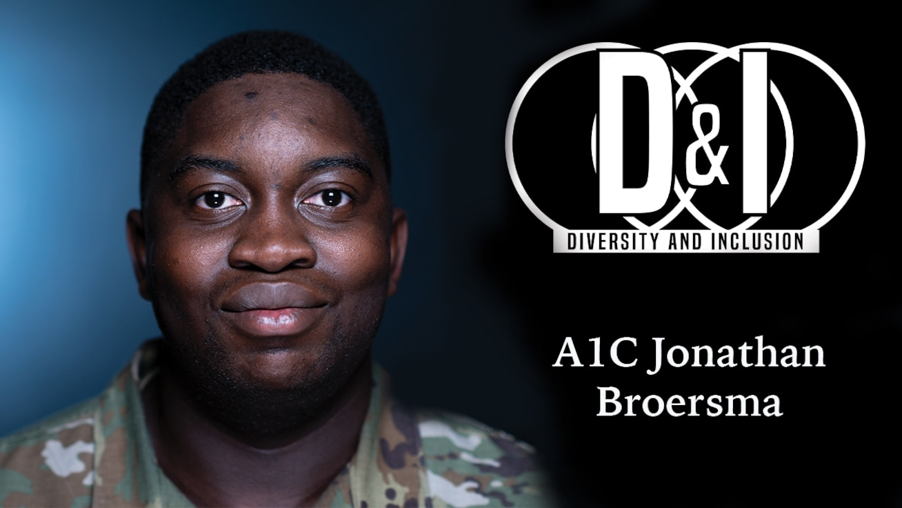 This is the second interview of the Diversity & Inclusion series. A1C Jonathan Broersma tells of his experiences after immigrating to America when he was two years old.