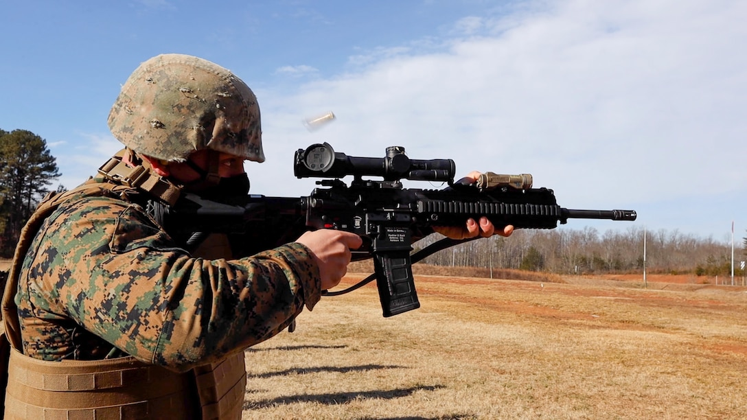 Marines with Weapons Training Battalion conduct the Annual Rifle Qualification train-the-trainer course on Marine Corps Base Quantico, Va., Feb. 17, 2021. The ARQ is replacing the current Annual Rifle Training to increase lethality by creating a more operationally realistic training environment which will be implemented service-wide by fiscal year 2022.