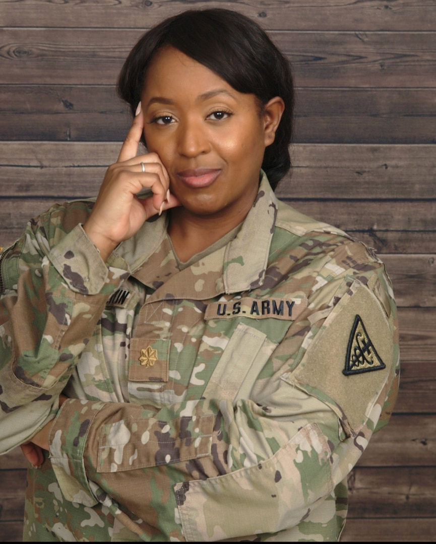 With traveling the world, interacting with various cultures, gaining operational and strategic planning experiences as a Soldier with 20 years of service, Maj. Satomi Mack-Martin has a plethora of experiences to draw from.