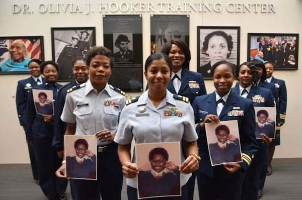The Coast Guard today honors Deirdre Green, who retired as a Storekeeper First Class and then dedicated herself to finding and sharing stories about African Americans in the Coast Guard. Courtesy photo.