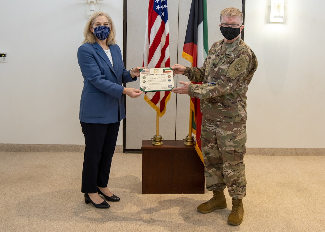 Ambassador praises Army Reserve medical Soldiers