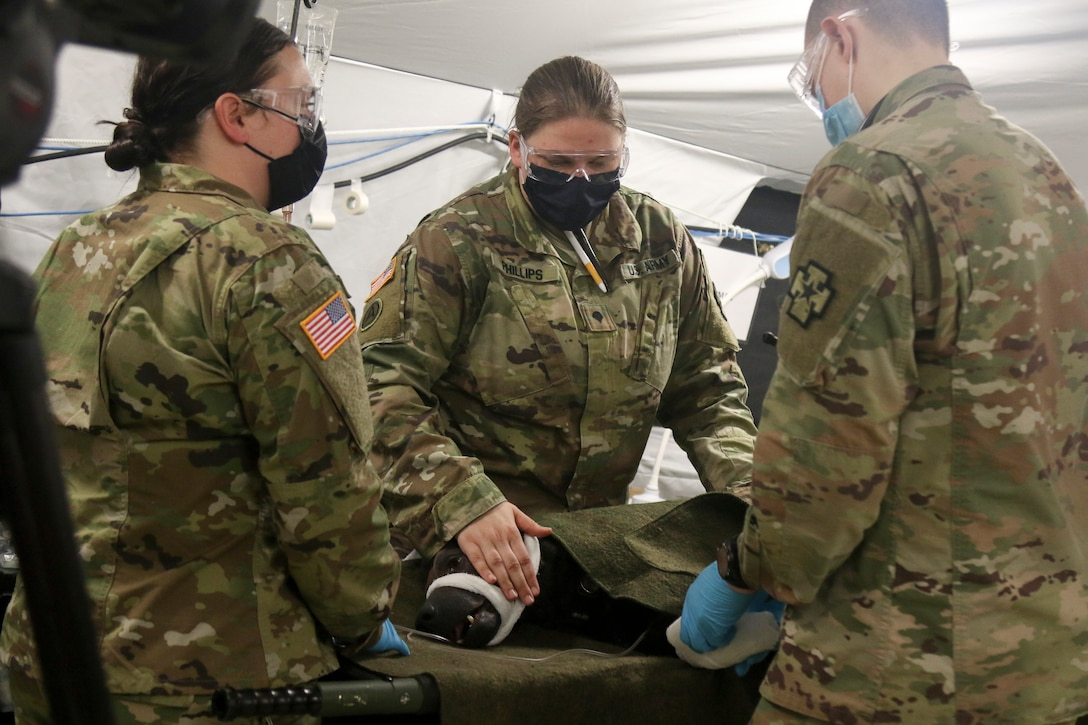 811th Hospital Center Prepares for Deployment