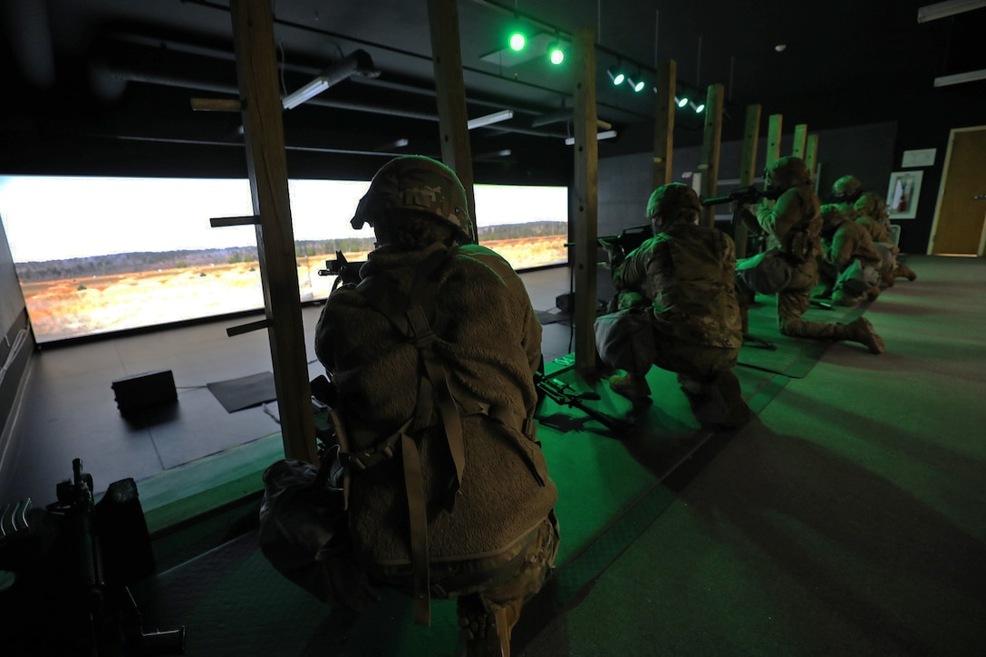 Soldiers hone skills in virtual sandbox