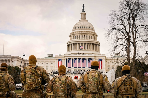 GA National Guardsmen Support the 59th Presidential Inauguration