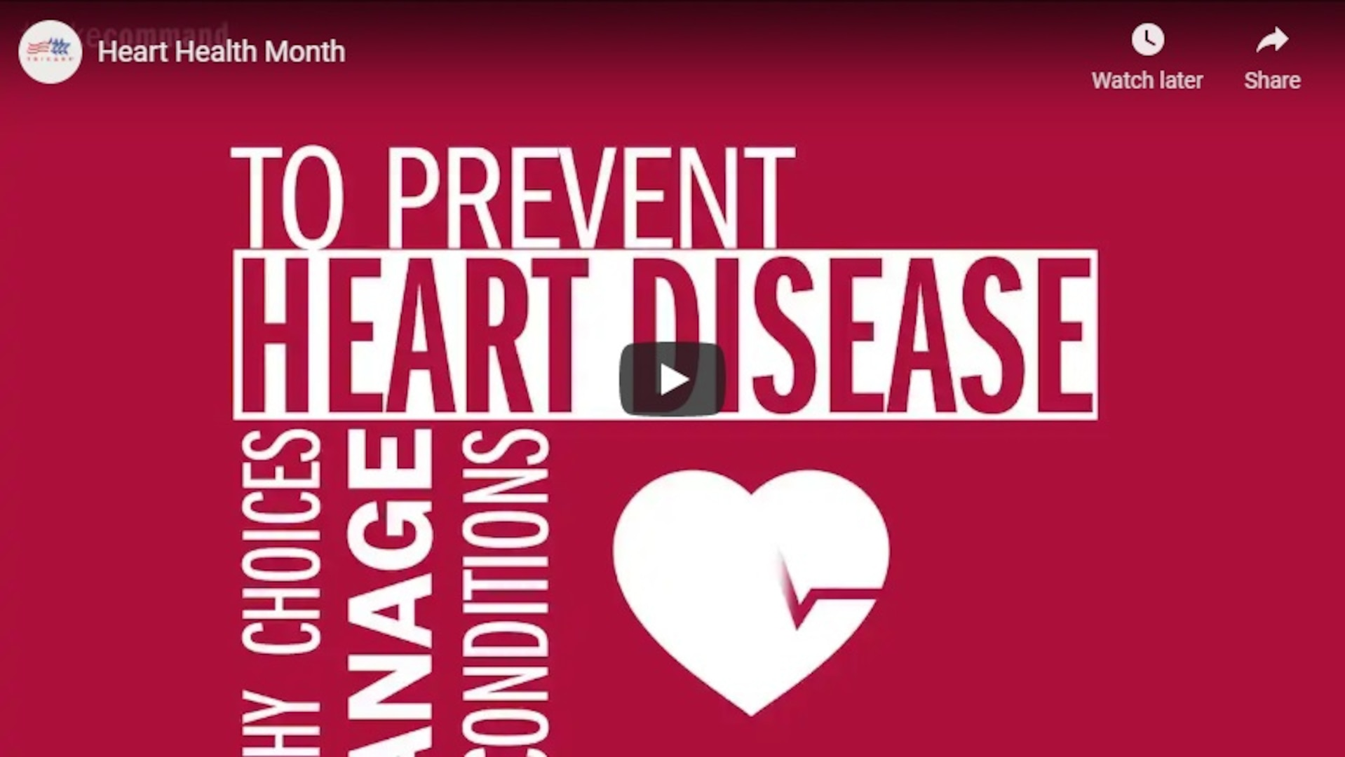 Stay heart healthy year round by following these tips.