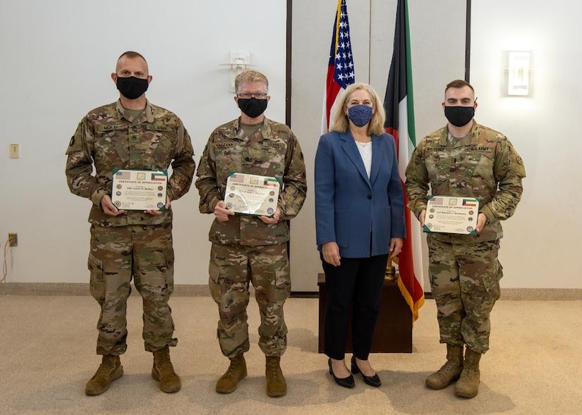Ambassador praises Army Reserve medical Soldiers