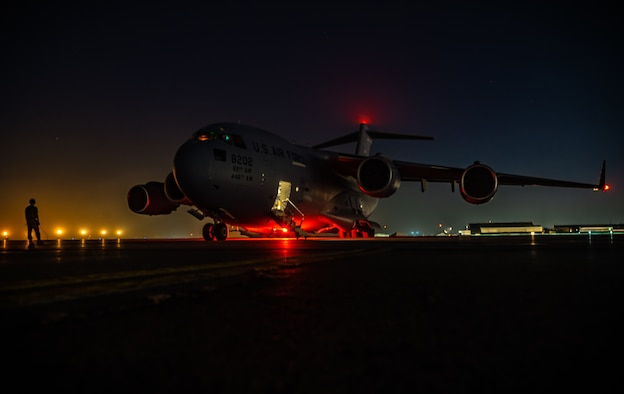 AFCENT C-17 Load