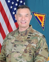 Official Photo for Command Sgt. Maj. Mark Morgan, senior enlisted advisor for the 7th Army Training Command.