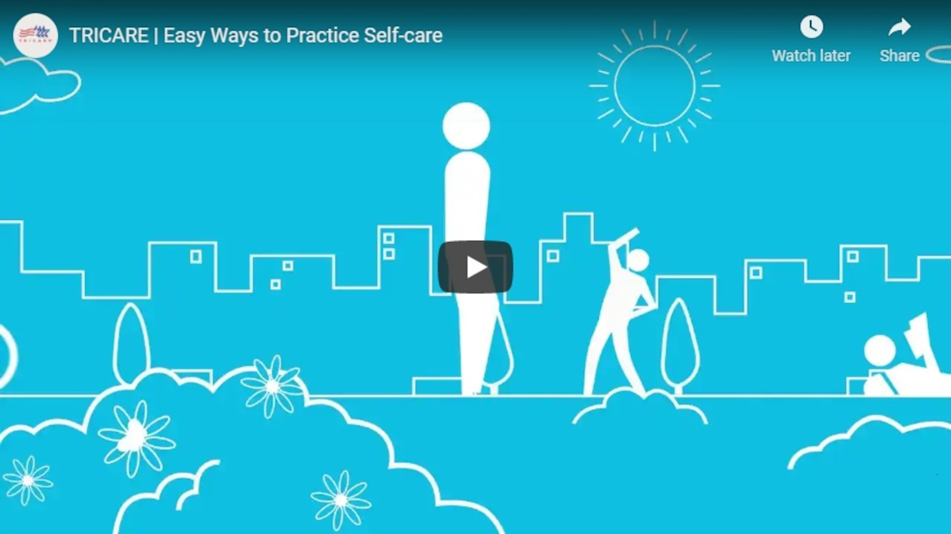 Watch this video to learn more about practicing self-care