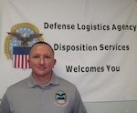 DLA Disposition Services Operations Chief Pat Leverett was recently named Employee of the Quarter for the first quarter of fiscal 2021 for his efforts in Gimcheon, South Korea.