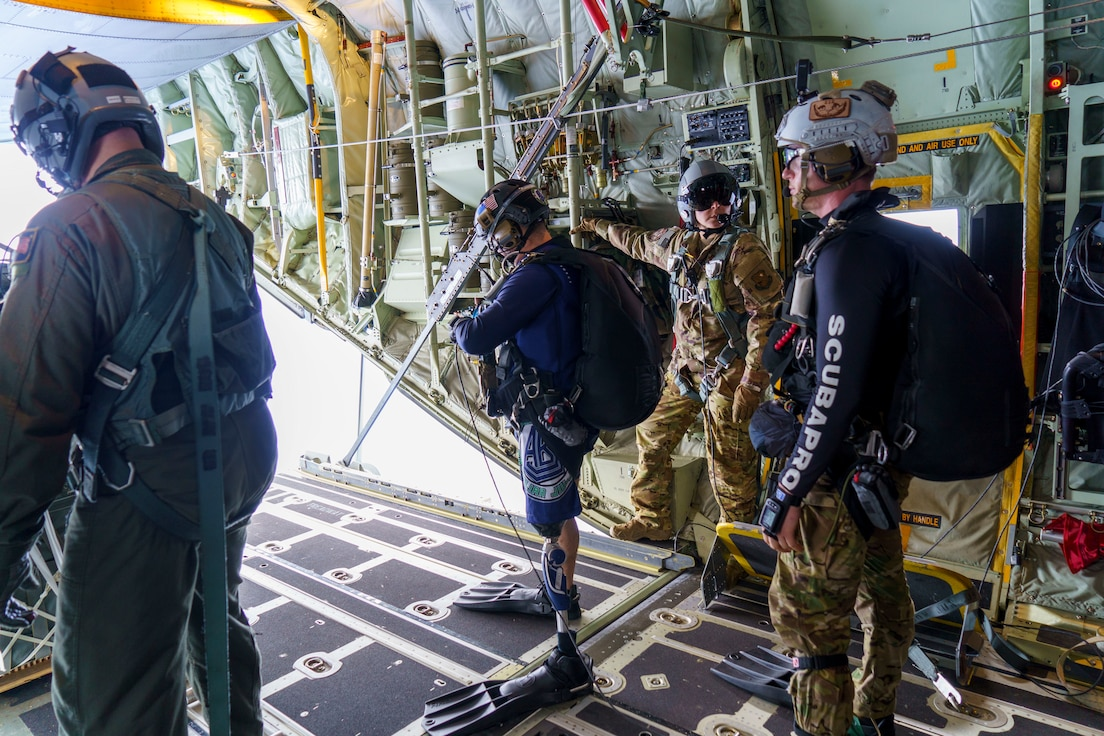 Alaska Air National Guard personnel completed four weeks of training during Exercise H20 in Hawaii, Feb. 6, honing their long-range search and rescue capability for the NASA human spaceflight program they are responsible for supporting.