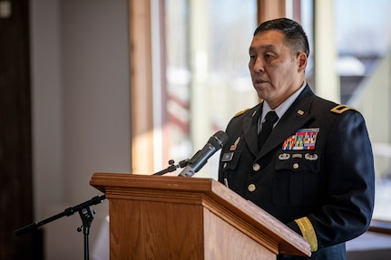 Brig. Gen. Wayne Don, director of joint staff for the Alaska National Guard, was promoted as the newest general officer in Alaska at a ceremony in Wasilla, Feb. 6, becoming the highest-ranking Alaska Native currently serving in the Alaska National Guard.