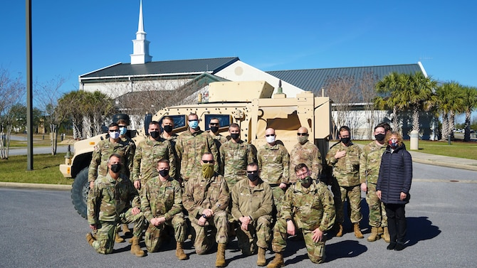 air force chaplains group picture