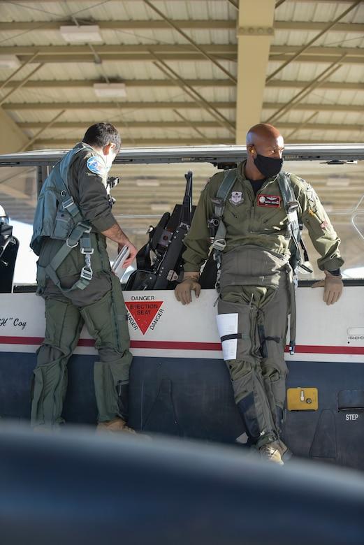 Black Air Force pilot.