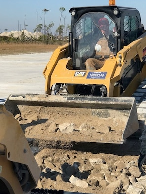 operating a compact track loader