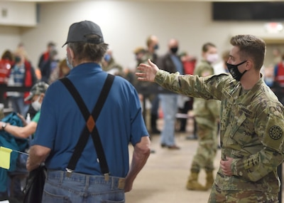 Michigan Guard vaccination teams assist around the state