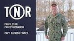 Capt. Patrick Finney poses for a photograph. Finney, a Willow Grove, Pennsylvania native, joined the U.S. Navy in 1995. (U.S. Navy graphic by Mass Communication Specialist 2nd Class Raymond Maddocks)