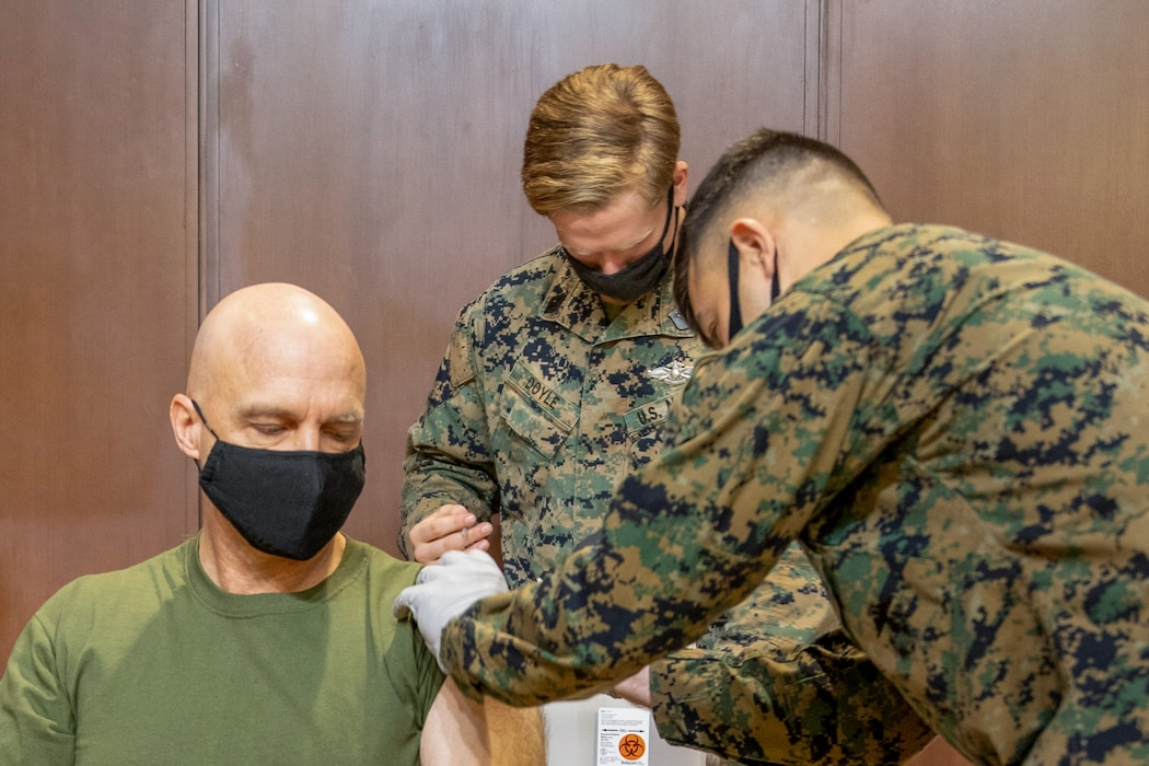 MARFORRES COVID-19 Vaccination