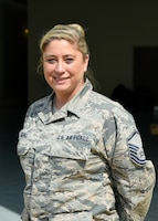 Cynthia McGill is the 908th Maintenance Group Key Spouse and has been since 2014.