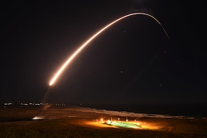 Minuteman III ICBM operational test launch