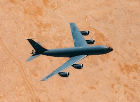 KC-135 soars over CENTCOM AOR