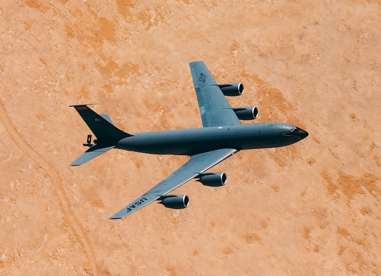 KC-135 soars over CENTCOM AOR