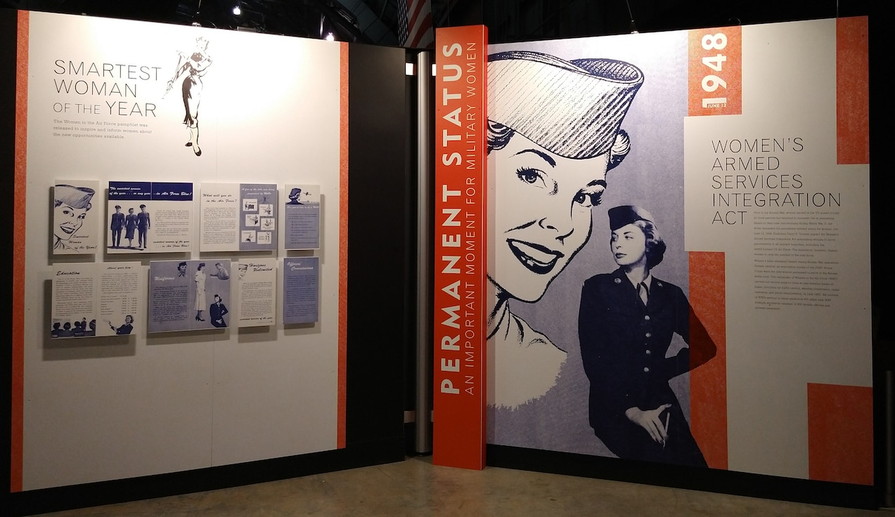 """The National Museum of the U.S. Air Force will host a presentation March 5 called """"Women in the Air Force: From Yesterday into Tomorrow."""" The museum's new exhibit highlights civilian and military women and their achievements in aviation. U.S. AIR FORCE PHOTO"""