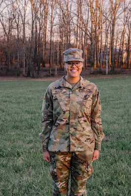 Pvt. Madison Marvel, assigned to B Company, 188th Medical Battalion, is fully recovered after a bout with COVID-19