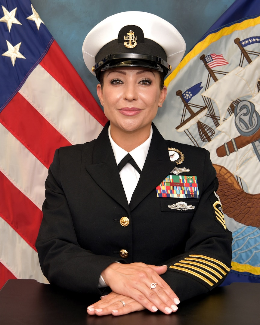 Senior Chief Petty Officer Kristal Pena is the lead Warrior Challenge Program talent scout assigned to Navy Talent Acquisition Group San Antonio.